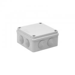 ELEKTRO-PLAST Puszka hermetyczna natynkowa IP44 jasnoszara 108x108x56mm