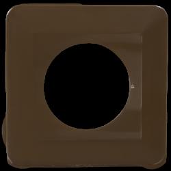 Osłonka wyłącznika/gniazda OPW brązowa