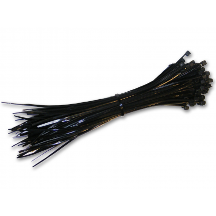 Opaski zaciskowe kablowe czarne