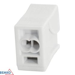 BEMKO Szybkozłączka oświetleniowa 2x2,5mm² E02-P032