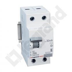 Wyłącznik różnicowo-prądowy Legrand RX3 25A 2P typ AC 402024