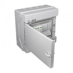Elektro-Plast Rozdzielnica Fotowoltaiczna RH-8/UV PVx1, kolor: szary 1500VDC, T1+T2, n/t, IP65 36.608