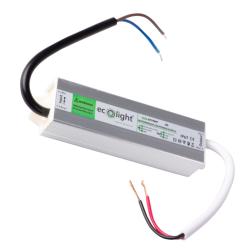 ECOLIGHT Zasilacz hermetyczny IP67 1,25A/15W 12V LED CCTV RTV