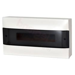 Legrand Rozdzielnica modułowa natynkowa PRACTIBOX S 1x22 drzwi przezroczyste 137435