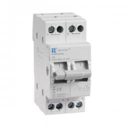 SPAMEL Przełącznik modułowy wyboru zasilania sieci 2P 40A SPMP/2P40