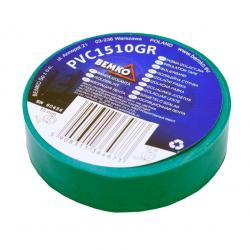 Bemko Taśma izolacyjna PCV 15mm 10m zielona