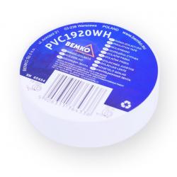 Bemko Taśma izolacyjna PCV 19mm 20m biała