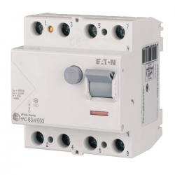 EATON Wyłącznik różnicowo-prądowy 4P 63A 30mA typ AC HNC-63/4/003 194695