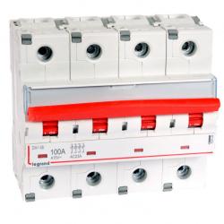 LEGRAND Rozłącznik modułowy 4P 100A FRX404 406546
