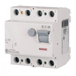 EATON Wyłącznik różnicowo-prądowy 4P 25A 30mA typ AC HNC-25/4/003 194693