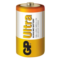 GP Bateria alkaliczna Ultra Alkaline R20 Rozmiar D 1.5V