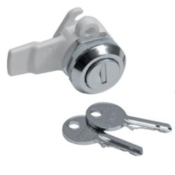 HAGER Zamek z 2 kluczykami do rozdzielnic FW2 FZ597