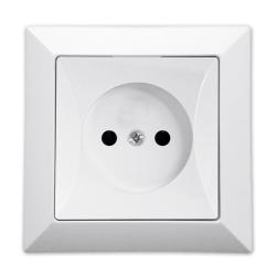 TIMEX OPAL Gniazdo pojedyncze w kolorze białym