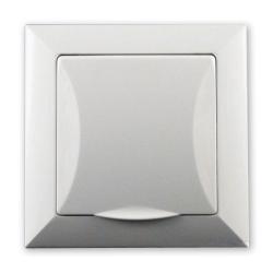 TIMEX OPAL Gniazdo hermetyczne uziemione w kolorze białym