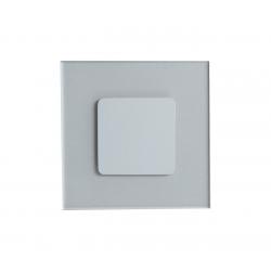 Oprawa schodowa PREMIUM LED 1,2W 230V do fi60 zimna