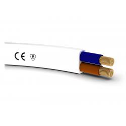 Przewód kabel mieszkaniowy OMYp 2x1,5 H03VVH2-F do oświetlenia