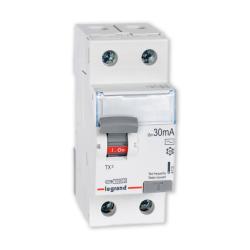 Legrand Wyłącznik różnicowoprądowy 2P 40A 0,03A typ AC P302 TX3 411510