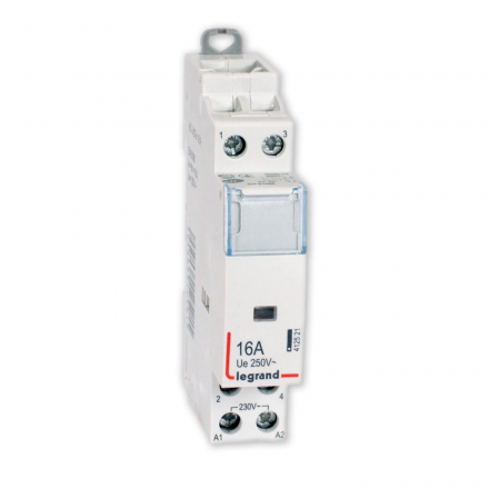 Stycznik modułowy Legrand SM416 16A 230V 1Z 1R 412521