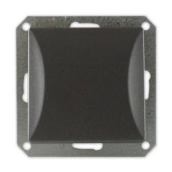 TIMEX OPAL Wyłącznik łącznik pojedynczy MODUŁ DO RAMKI w kolorze grafitowym