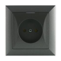 TIMEX OPAL Gniazdo pojedyncze w kolorze grafitowym