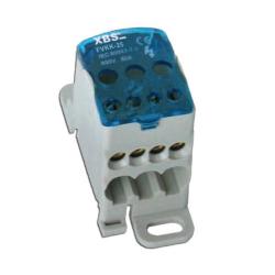 XBS Blok rozdzielczy mostek na szynę 6-16mm 80A FVKK-25