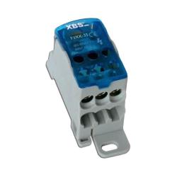XBS Blok rozdzielczy mostek na szynę 6-16mm/10-35mm 125A FVKK-35