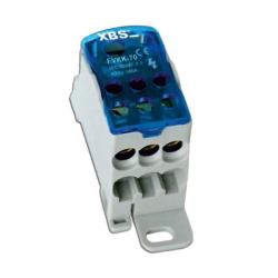 XBS Blok rozdzielczy mostek na szynę 6-16mm/10-70mm 160A FVKK-70