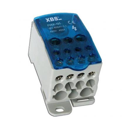 XBS Blok rozdzielczy mostek na szynę 95-185mm 400A FVKK-185