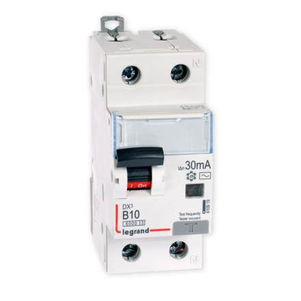 Legrand Wyłącznik różnicowo-nadprądowy DX3 B 16A 2P 410921