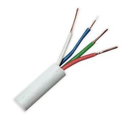 ElektroKabel Przewód kabel alarmowy domofonowy YTDY 4x0,5mm² 100mb