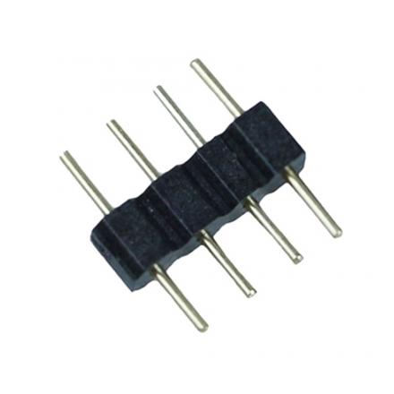 Elektro Złączka konektor 4 PIN 10mm do taśm LED wielokolorowych 100 szt.