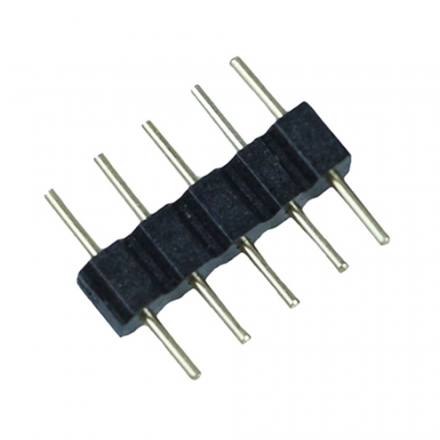 Elektro Złączka konektor 5 PIN 12mm do taśm LED wielokolorowych 100 szt.