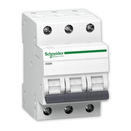 SCHNEIDER Wyłącznik nadprądowy 3P C 32A 6kA AC K60N A9K02332