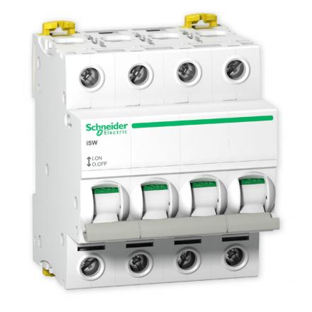 SCHNEIDER Rozłącznik izolacyjny 4P 100A iSW A9S65491