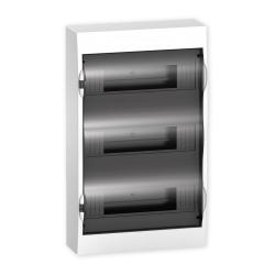SCHNEIDER Skrzynka rozdzielnica natynkowa 3x12 drzwi transparentne EZ9E312S2S