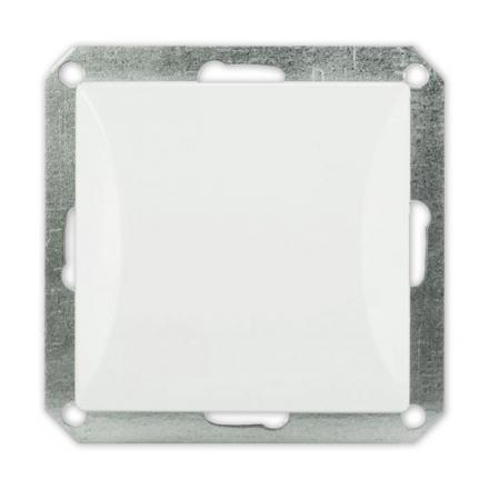 TIMEX OPAL Wyłącznik łącznik pojedynczy MODUŁ DO RAMKI w kolorze białym