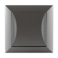 TIMEX OPAL Wyłącznik schodowy pojedynczy grafit WP-5 Op GR