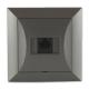 TIMEX OPAL Gniazdo komputerowe RJ45 8pin zacisk krone LSA+ grafit