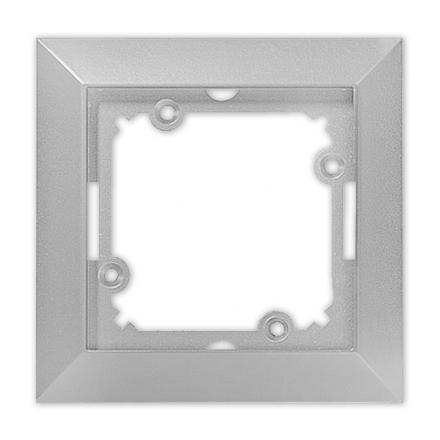 TIMEX OPAL Ramka pojedyncza w kolorze srebrnym