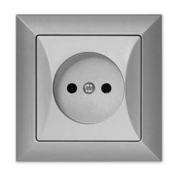 TIMEX OPAL Gniazdo pojedyncze srebrne GPt-15 Op SR