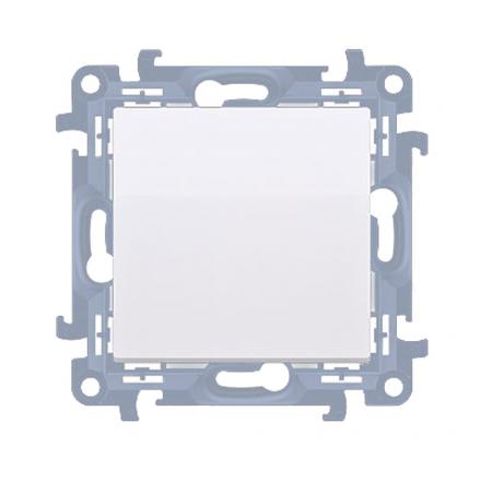 SIMON 10 Wyłącznik łącznik pojedynczy zwierny do ramki biały CP1.01/11