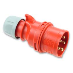 PCE Wtyczka siłowa przenośna IP44 32A 5P 400V 025-6