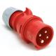 PCE Wtyczka siłowa przenośna IP44 16A 4P 400V 014-6
