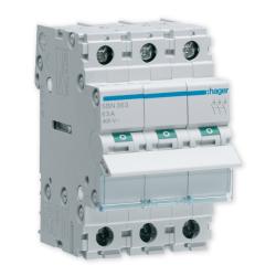 HAGER Rozłącznik izolacyjny wyłącznik główny 63A 3P SBN363