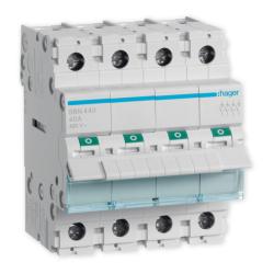 HAGER Rozłącznik izolacyjny wyłącznik główny 40A 4P SBN440