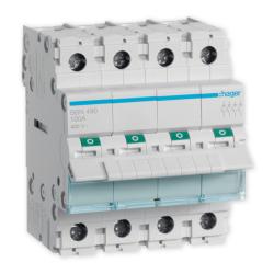 HAGER Rozłącznik izolacyjny wyłącznik główny 100A 4P SBN490