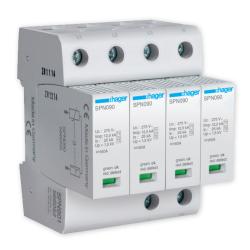 HAGER Ogranicznik ochronnik przepięć B+C T1+T2 MOV 4P TN-S SPN901