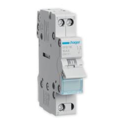 HAGER Przełącznik modułowy wyboru zasilania sieci 1P 16A 230V SFB116