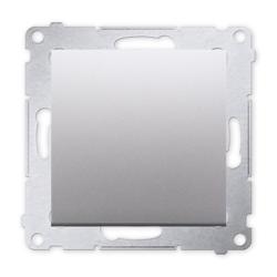 SIMON 54 Wyłącznik łącznik pojedynczy do ramki srebrny mat DW1.01/43