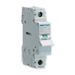 HAGER Rozłącznik izolacyjny wyłącznik główny 100A 1P SBN190